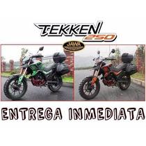 Moto Jawa Tekken 250 0km 2017