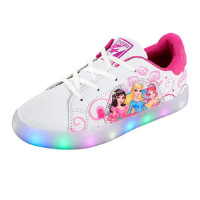 Tenis Led Princesas,envio Sin Costo