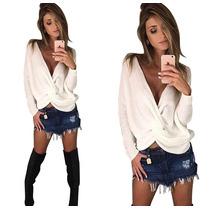Blusa Tricot 2 Em 1 Feminina Trico Lã Decote Ultima Tendenci