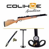 Rifle Pcp Menaldi Cazador 5,5 - Dual + Inflador 220 Bar