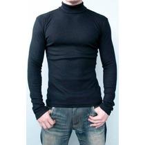 Camisa Gola Alta Tamanhos Especiais Com Fps Solar Uv 50+