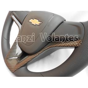 4 Peças - Volante Cruze Carbono Corsa Wind Wagon Celta