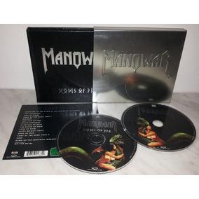 Box Manowar - Gods Of War (box Metal + Dvd + Bônus) Lacrado
