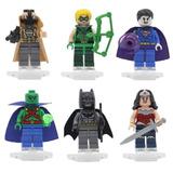 Kit Mulher Maravilha, Bane, Arrow, Batman - Lego Compatível