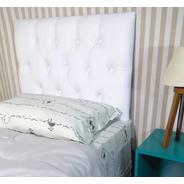 Encosto Painel Estofada Solteiro Branca 90x60