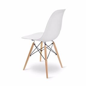 Silla Eames Blanca P/madera Segunda Seleccion - Living Style