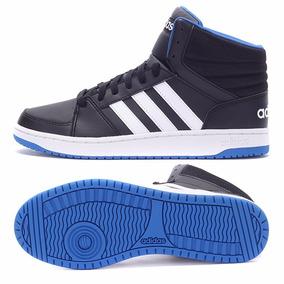 Zapatillas Botitas adidas Neo Hoops Vs Mid Negro C/azul