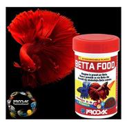 Alimento Prodac Para Peces Betta Food 40 Gramos Acuario Pecera