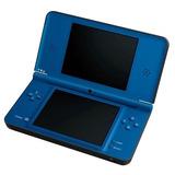 Nintendo Ds Xl+r4+cargador Azul