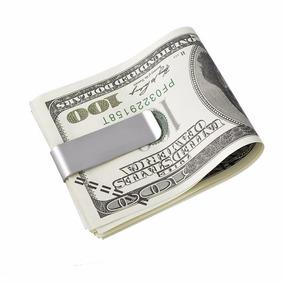 Money Clip Tipo Espejo Para Tarjetas Y Billetes Envío Gratis