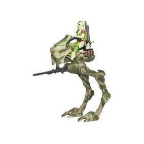 Hunt For Yoda At-rt Con Barro (limited Edition) Por Star Wa