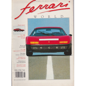 Revista Ferrari World - Número 08 - 1990 - Venda!*