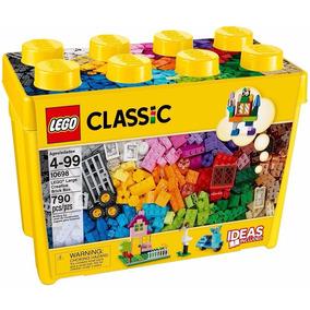 Balde Lego Classic Grande 10698 Com 790 Pçs Frete Grátis