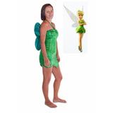 Fantasia Verão 2017 Sininho Adulto Tinker Bell + Asa