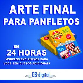 Criar Arte Final Folder Flyer Panfleto Cartão Capa Facebook