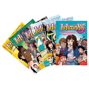 Hq Luluzinha Teen E Sua Turma Kit Com 6 Revistas Novas