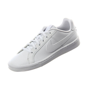 Nike Court Royale Gs Clasico Blanco Escolar Jr Original Piel