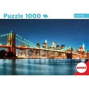 Puzzle Puente Brooklyn Nueva York 1000 Piezas - Antex 3061