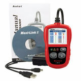 Escaner Automotriz Multimarca Autel Al319 Actualización S/c