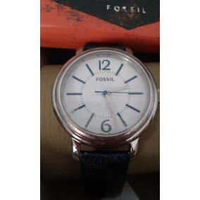 afda2f7365c Relógio Fossil Me 1103 Pulseira De Couro Genuine Leather - Joias e ...