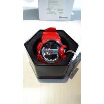 Relógio G-shock G-mix Bluetooth Red - Frete Gratis