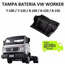 Tampa Bateria Caminhão Vw Worker 7-100 / 7-120 / 8-150