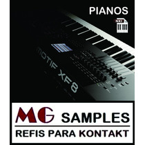 Samples Pianos Acústicos Motif Xf Para Kontakt Via Download