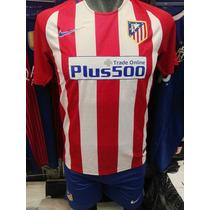 Uniforme.de Futbol Atletico De Madrid Playera Y Short