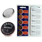 5 Pilas Cr2032 Sony Baterias Litio 3v Original Cad 2027