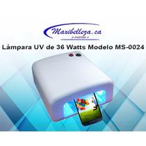 Lampara Uv Para Micas Y Uñas De 36 Watts Voltaje 110