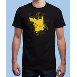 Promoção Camisa Camiseta Pikachu Choque Do Trovão