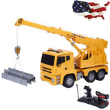 5ch 1/18 Control Remoto Rc Grúa Elevación Camiones Pesados