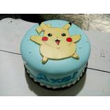 Torta Artesanal Picachu Pokemon Zona Sur Envios!!