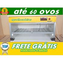 Chocadeira 63 Ovos Automática +ovoscópio Profissional