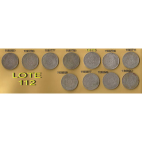 Moedas Antigas-coleção-lote:112...
