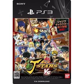 J-stars Victory Vs+ Legendado Cód Psn Ps3 - Envio Imediato!