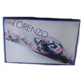 Quadro Decorativo 60x40 Tecido Moto Gp Jorge Lorenzo 99
