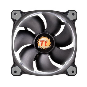 Fan Tt Riing 12 Radiator Fan Led White 1500rpm Thermaltake