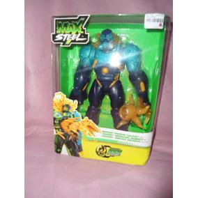 Boneco Max Steel - Toxzon Ameaça Mutante