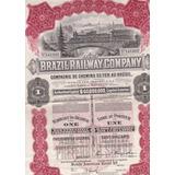 Brazil Railway Comp - 141369 - 1912 - Preferred Share