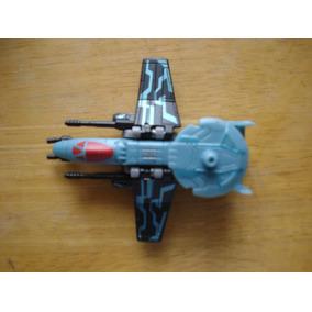 Mini Avion Transformers No Se Tranforma Mide 10 X 10 Cms