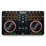 Controlador Dj Numark Mixtrack Pro Ii Usb Audio Integrado