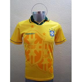 Jersey Playera Brasil Local Retro Mundial 94 Umbro