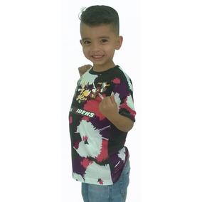Franela De Niño Camisa Para Niños Algodón C2308 Pau