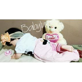 Bebê Realista 50cm Tipo Reborn Boneca