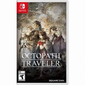 Octopath Traveler Switch Midia Fisica Lacrado