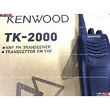 Radiotransmisor Portátil Kenwood Tk2000 Tk3000 Vhf O Uhf