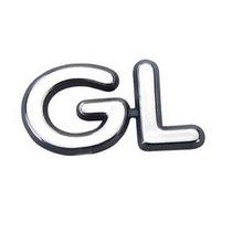 Emblema Gl - Linha Ford 97/02 Para Ka Fiesta Escort