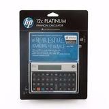 Calculadora Financeira Hp12c Platinum Original Português