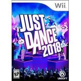 Just Dance 2018 Wii Nuevo Sellado Original Fisico
